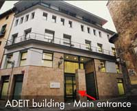adeit entrance